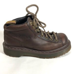 Dr. Martens Brown Ankle Boots 8287 Youth 4